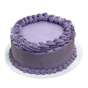 Ube Cake (8 inch round)